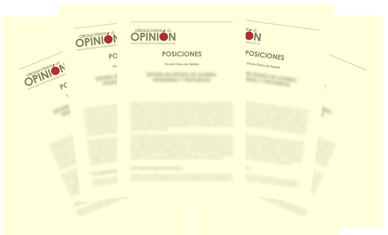 Ver Posiciones del Círculo Cívico de Opinión
