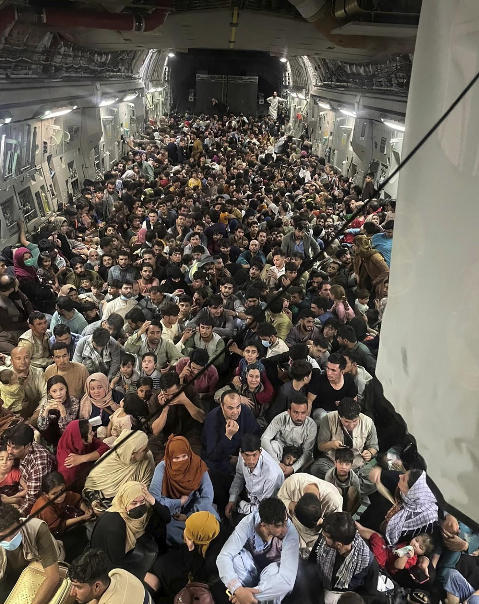 La caída de Kabul